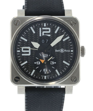 82656a32d150 Authentic Used Bell   Ross GMT Dual Time BR03-51 GMT Watch (10-10 ...