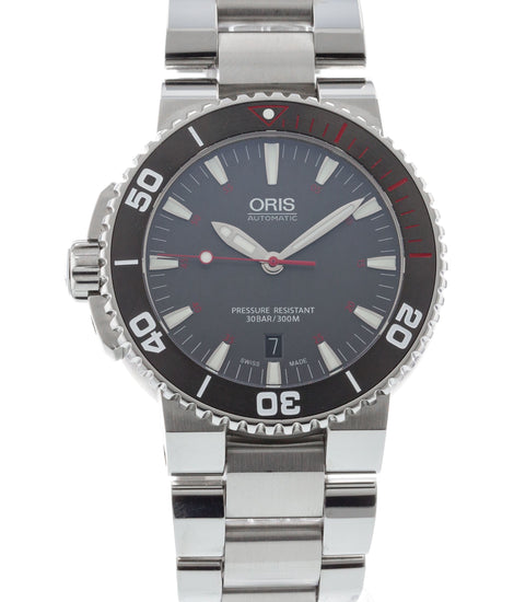 Oris Aquis Red Limited Edition 01 733 7653 4183-Set MB