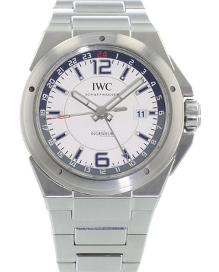 a0e847062e28 Authentic Used IWC Ingenieur Dual Time IW3244-04 Watch (10-10-IWC ...