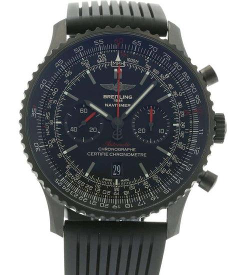 Breitling Navitimer Black Steel MB012822/BE51