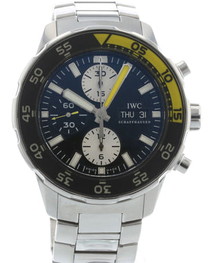 c8a44ccce46f Authentic Used IWC Aquatimer Automatic Chronograph IW3767-01 Watch ...
