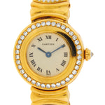 Cartier Colisee 18K Yellow Gold