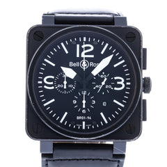 Bell And Ross Watches >> Pre Owned And Used Bell Ross Watches Crown And Caliber
