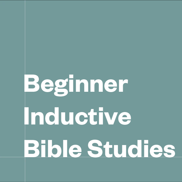 Beginner Inductive Bible Studies