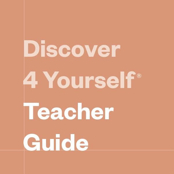 Discover 4 Yourself Teacher's Guides