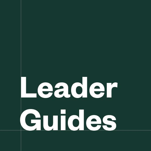 Kings and Prophets Series Leader Guides