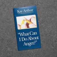 What Can I Do About Anger?-Small Booklet