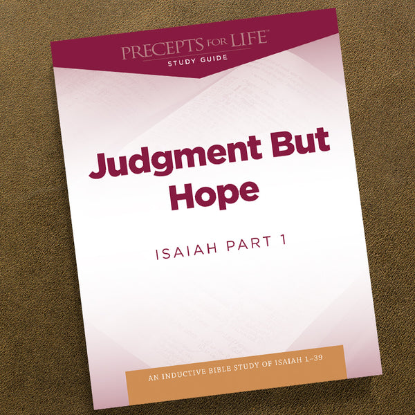 Isaiah Part 1-Pdf-Precepts For Life Study Guide-Download