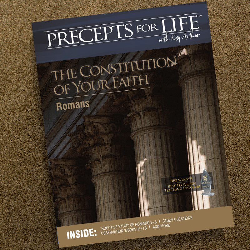 Romans-Precepts For Life Study Companion