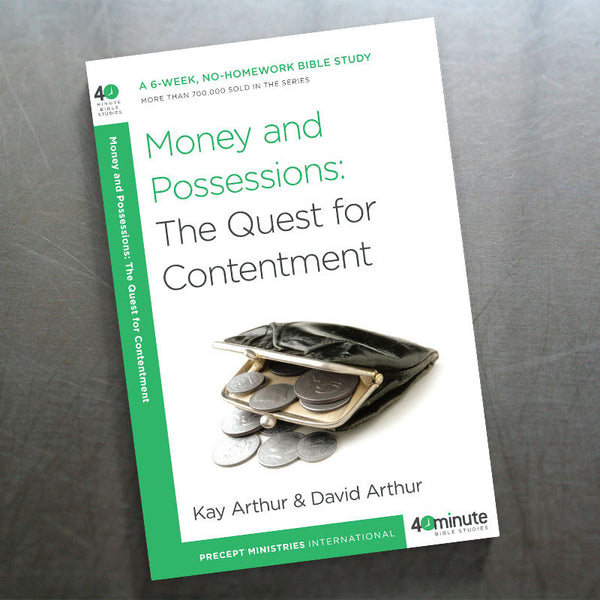 Money and Possessions: the Quest For Contentment (40 Min)