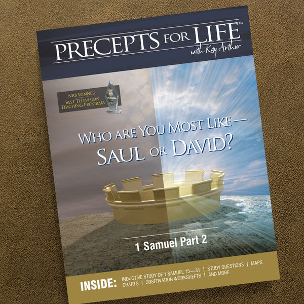 1 Samuel Part 2-Precepts For Life Study Companion