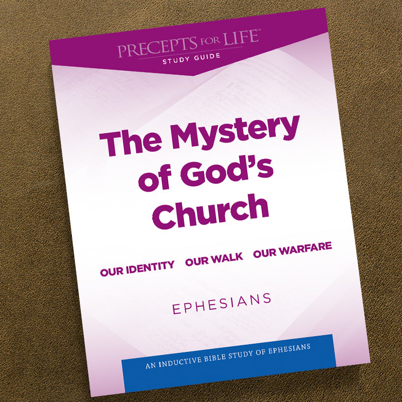 Ephesians-Pdf-Precepts For Life Study Guide-Download
