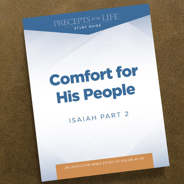 Isaiah Part 2-Pdf-Precepts For Life Study Guide-Download