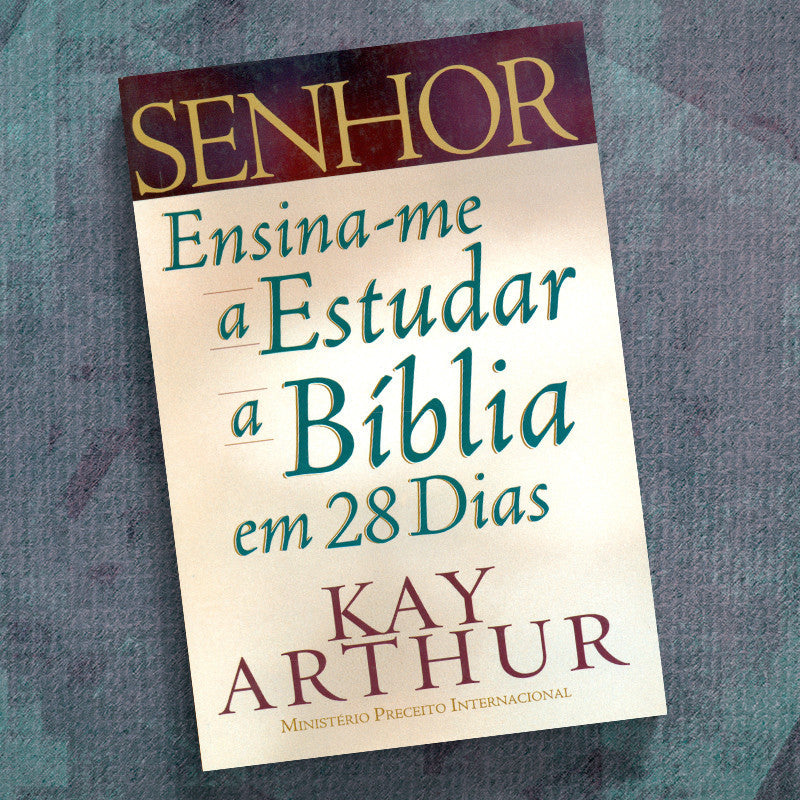 Portuguese-Lord, Teach Me To Study The Bible In 28 Days