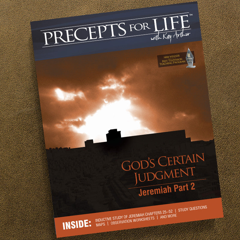 Jeremiah Part 2-Precepts For Life Study Companion