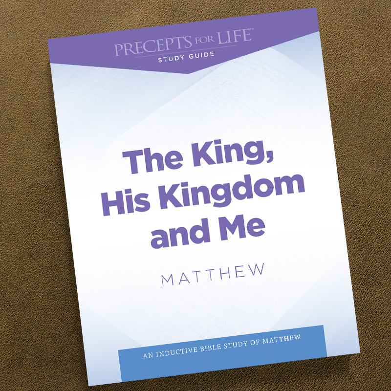 Matthew-Pdf-Precepts For Life Study Guide-Download