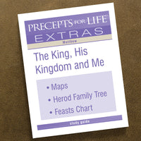 Matthew-Precepts For Life Study Guide-Extra Download Items