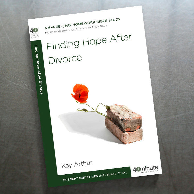 Finding Hope After Divorce(40 Min Study)