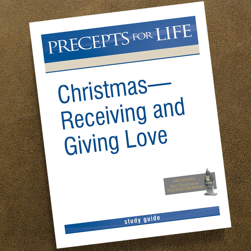 Christmas: Receiving And Giving Love-Pfl Study Guide