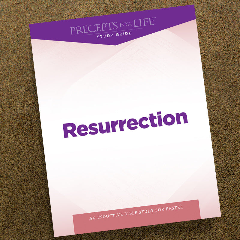 Resurrection-Pdf-Precepts For Life Study Guide-Download