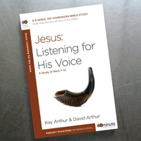 Jesus: Listening For His Voice(40 Min Study)