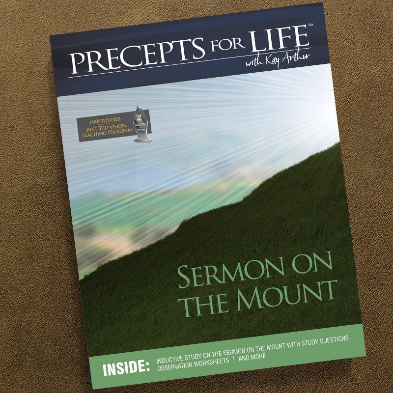 Sermon On The Mount-Precepts For Life Study Companion