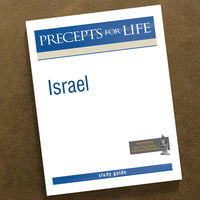 Israel-Precepts For Life Study Guide