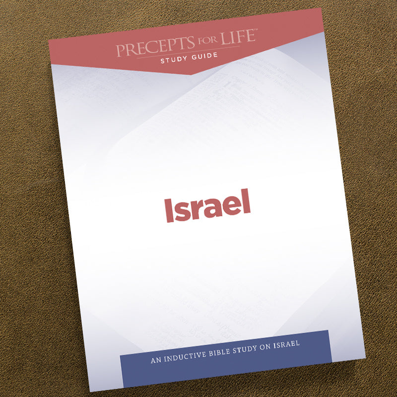 Israel-Precepts For Life Study Guide Pdf-Free Download