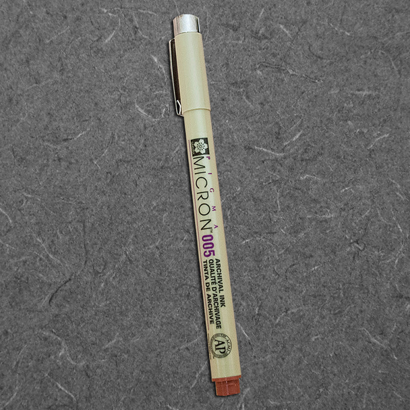 Pen-Micron Pigma-Brown .005
