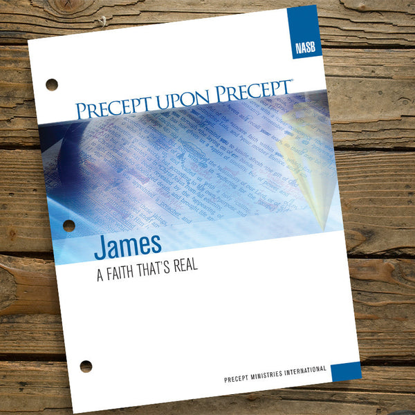James-Precept Workbook (Nasb)