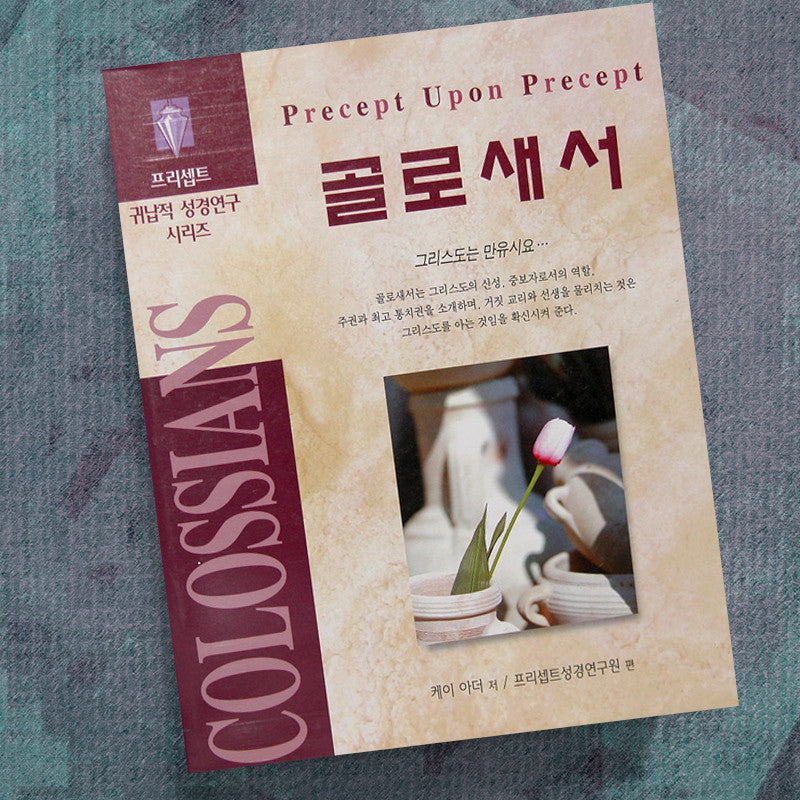 Korean-Colossians-Precept Workbook
