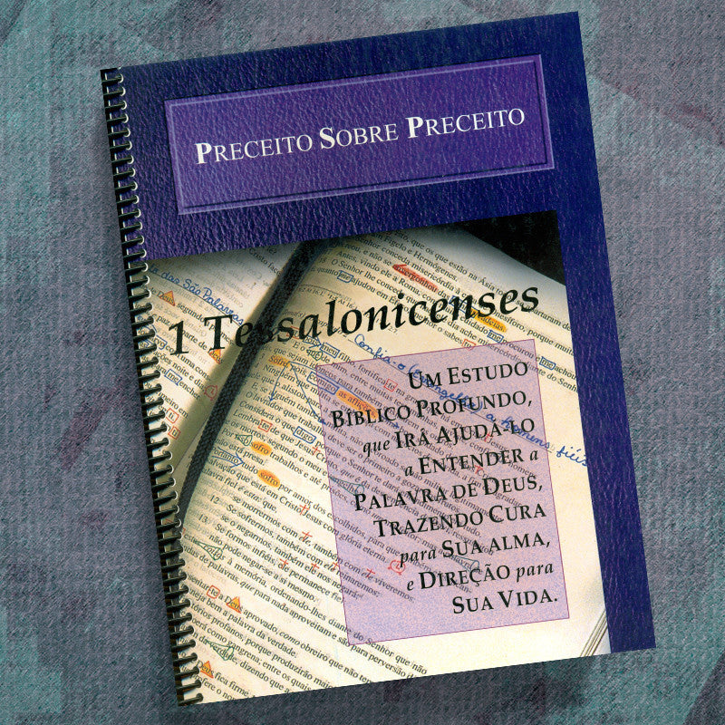 Portuguese-1 Thessalonians-Precept Workbook