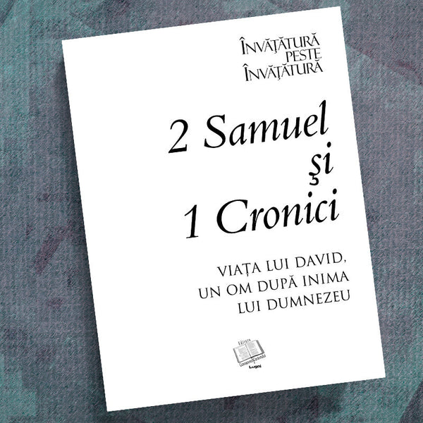 Romanian-2 Samuel/I Chronicles-Precept Workbook