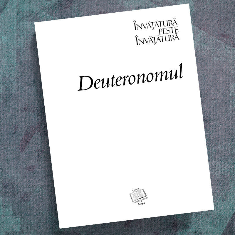 Romanian-Deuteronomy-Precept Workbook