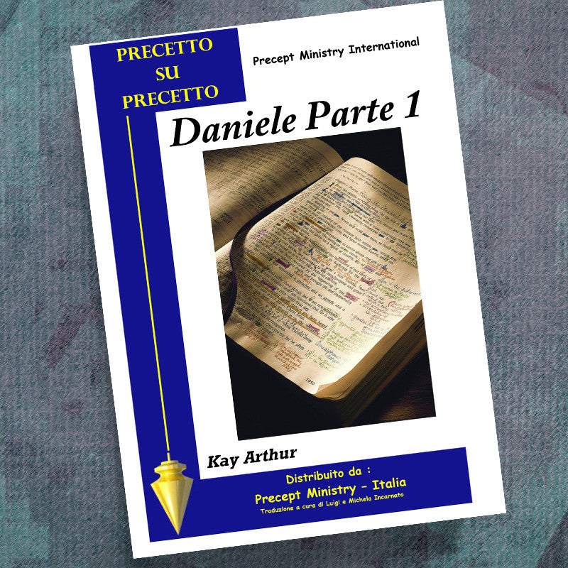 Italian-Daniel Part 1-Precept Workbook