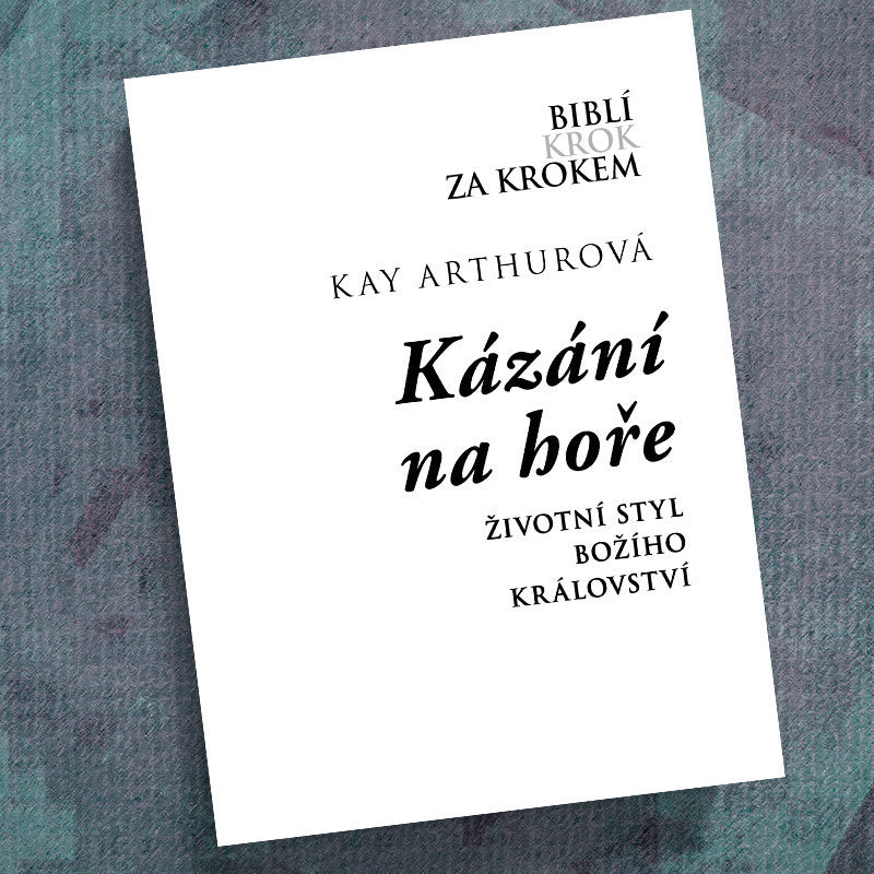 Czech-Sermon on the Mount-Precept Workbook