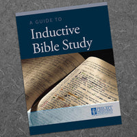 Guide To Inductive Bible Study-Download