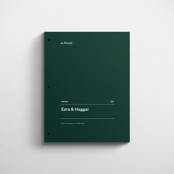 Ezra/Haggai-In & Out Workbook (Esv)