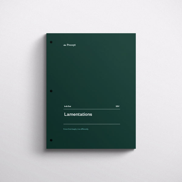 Lamentations-in & Out Workbook (Esv)
