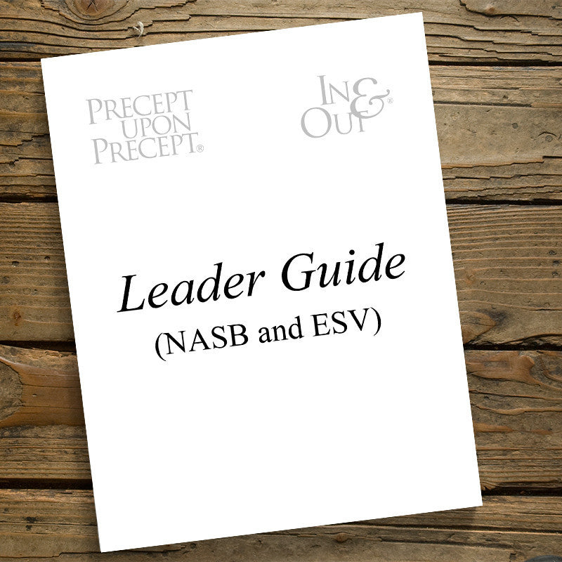 Esther-Written Leader Guide