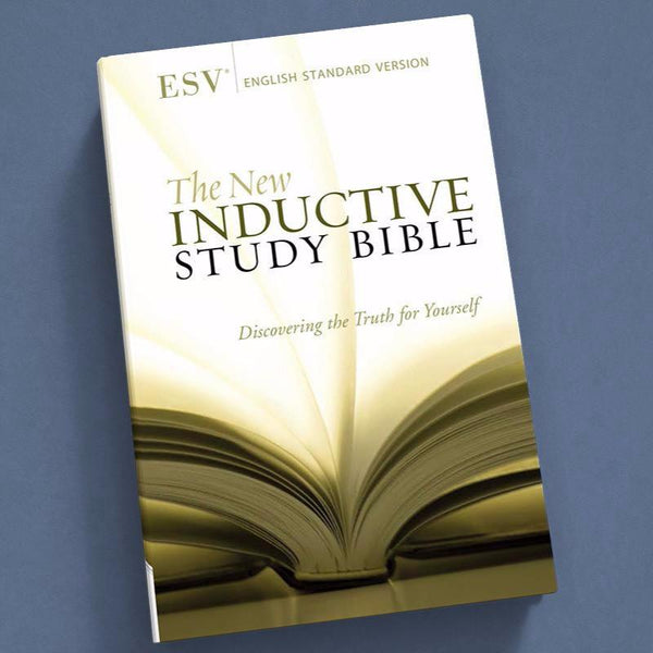 The New Inductive Study Bible-Esv-Hardback