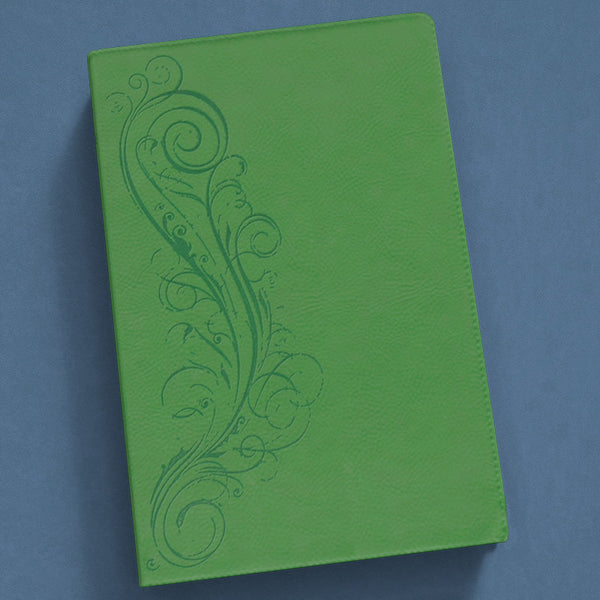 The New Inductive Study Bible-Esv (Milano Softone) Green