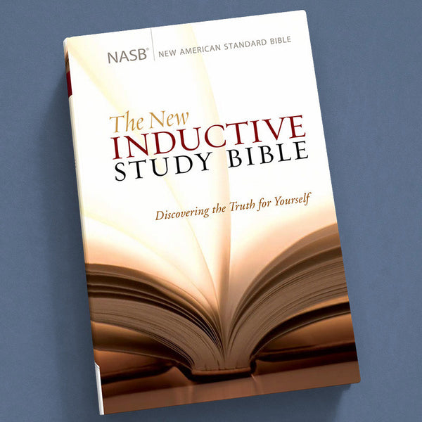 The New Inductive Study Bible-Nasb (Hardcover)