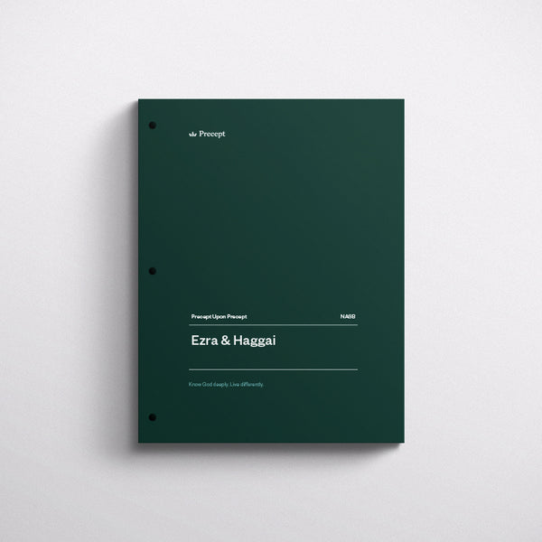Ezra/Haggai-Precept Workbook (Nasb)