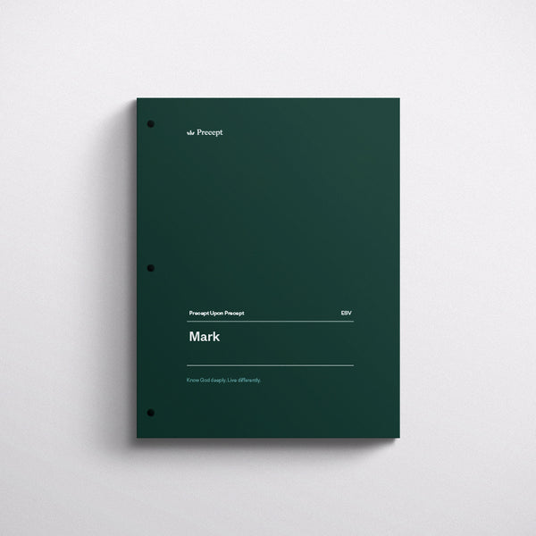 Mark-Precept Workbook (Esv)