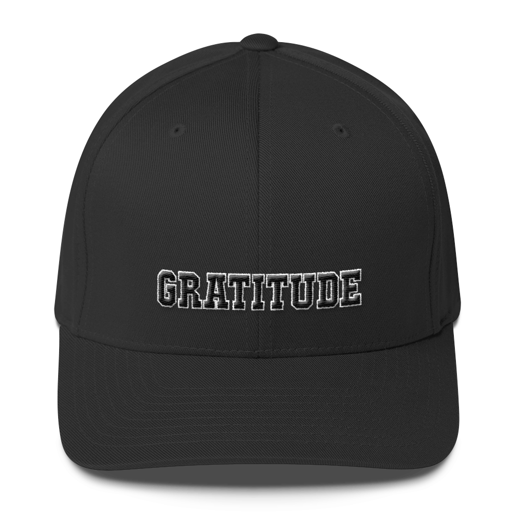 Gratitude Flex Fit Structured Twill Cap