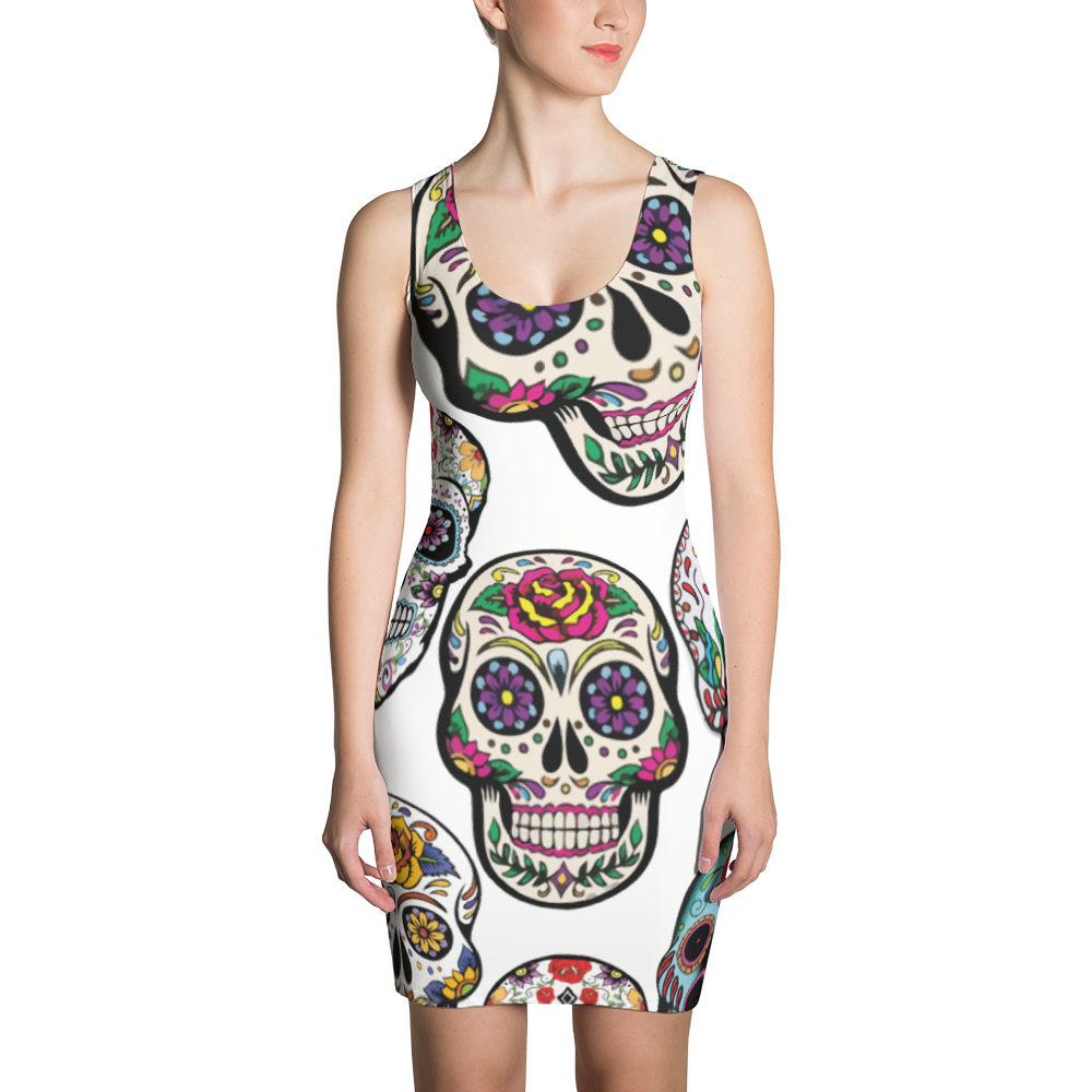 Sugarskull Sublimation Cut & Sew Dress