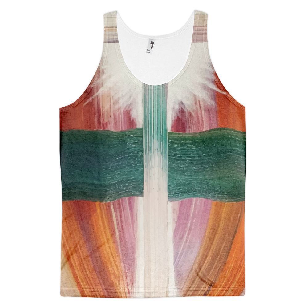 Cross Contamination Classic Fit Tank Top (unisex)