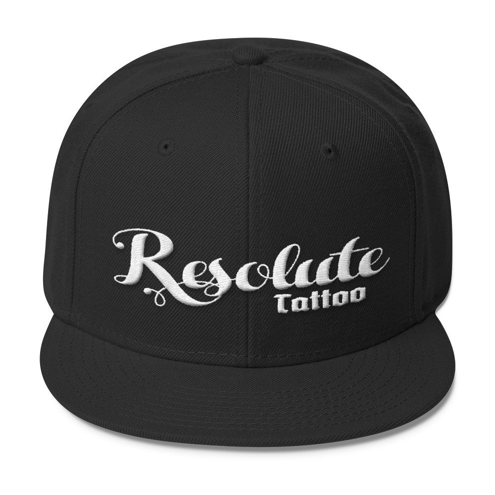 Resolute Brand Wool Blend Snapback