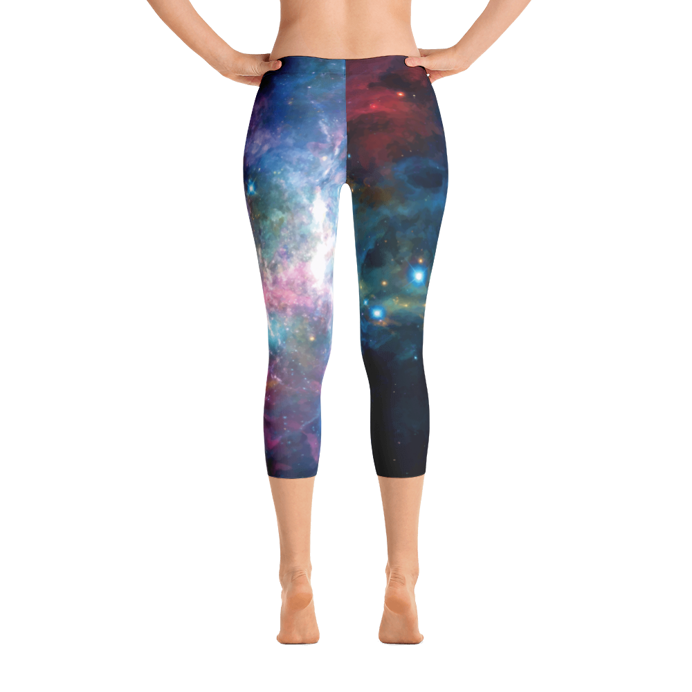Out Of This World Capri Leggings